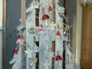 Sapin de Noël palettes