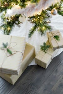 Papier cadeau zéro déchet