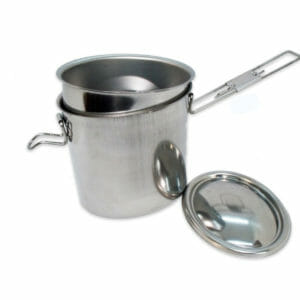 Lunch-box Inox ovale