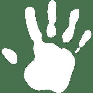 Logo remise en mains propres zéro déchet