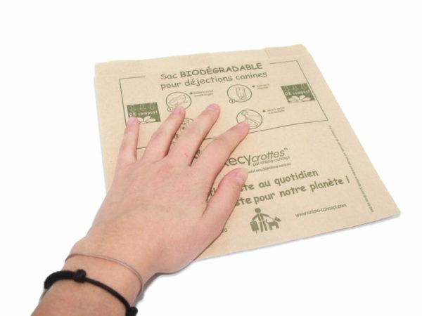 sacs déjections canines compostables