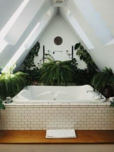 Salle de bain responsable suite