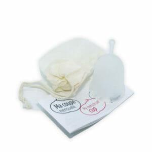 Coupes menstruelles fabriquées en France