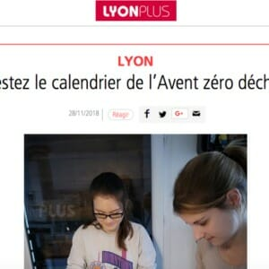 Article calendrier avent Lyon plus