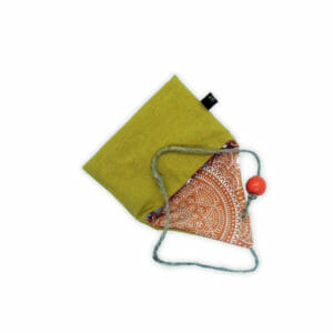 Porte-savon nomade en tissu recyclé et/ou certifié Oeko-Tex