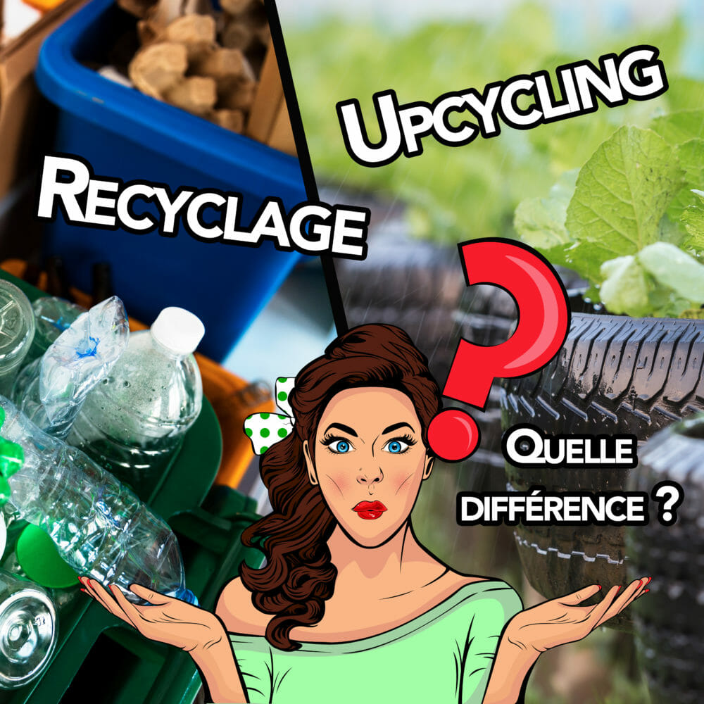 Upcycling et recyclage quelle différence ?