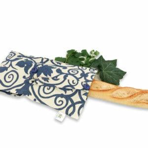 Sac à pain en tissu upcyclé et solidaire fabriqué en France