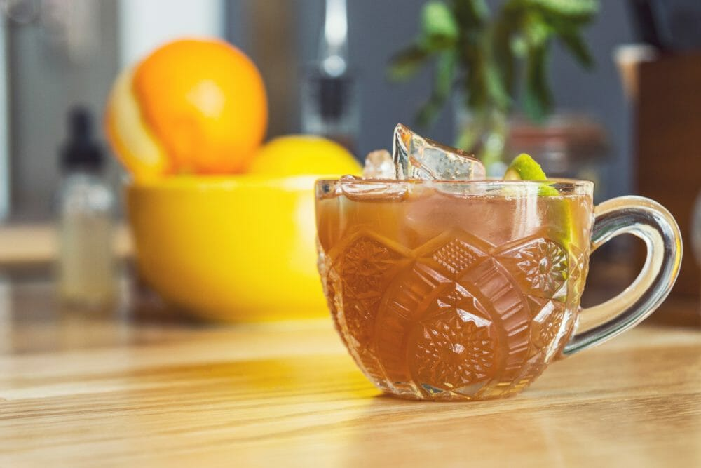 Recette express thé glacé maison zéro déchet