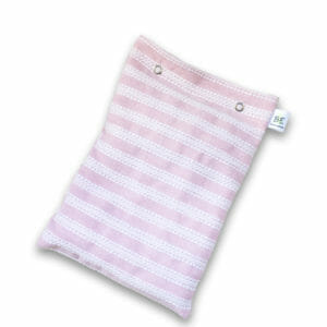 Bouillotte sèche fabriquée en France, tissu solidaire