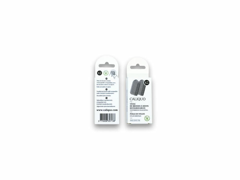 Brosses à dents rechargeables Caliquo recharges 1