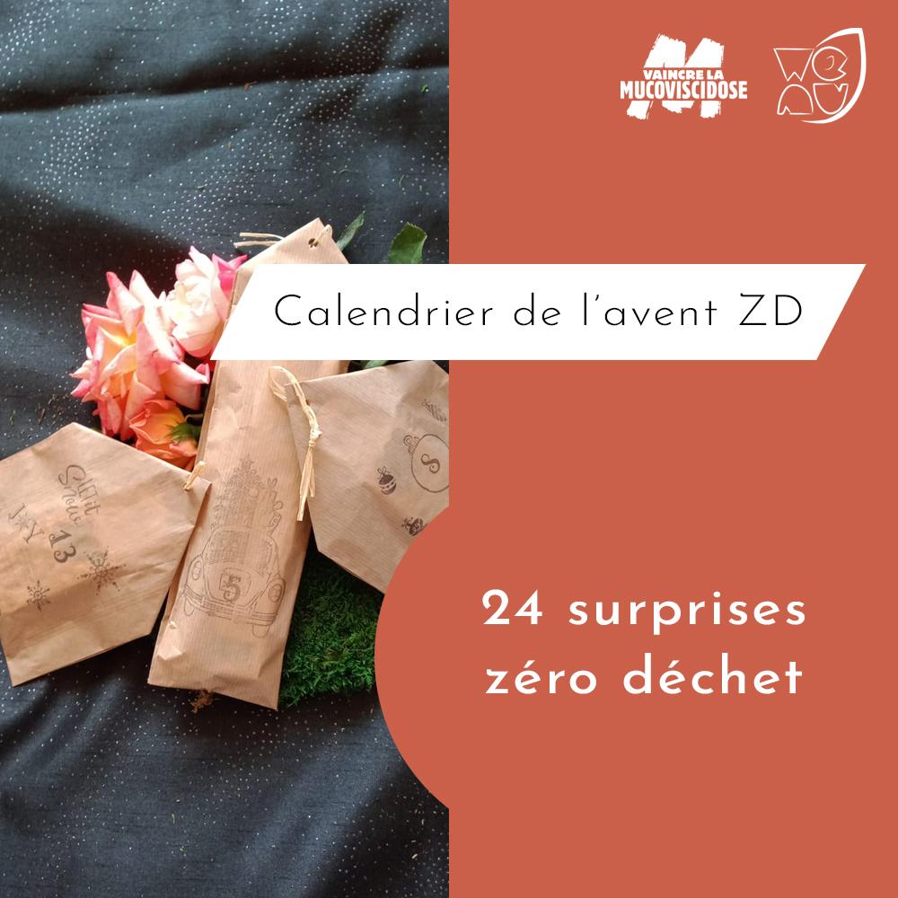 calendrier de l'avent zéro déchet 2020 24 surprises