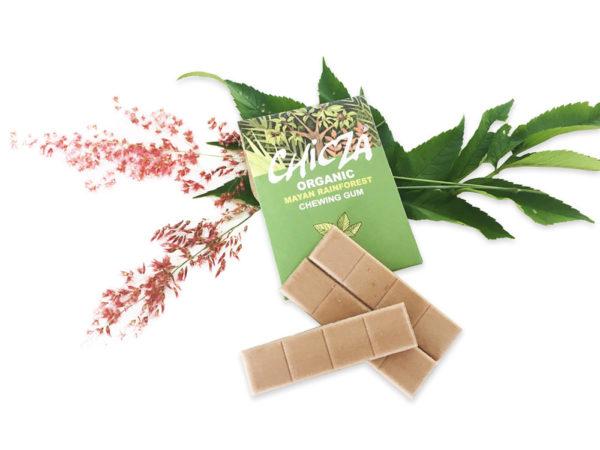 Chicza Chewing-gum biologiques bio menthe poivrée , biodégradables et naturels