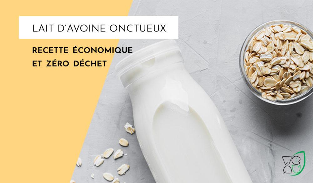 Faire son lait d'avoine maison zéro déchet et économique miniature